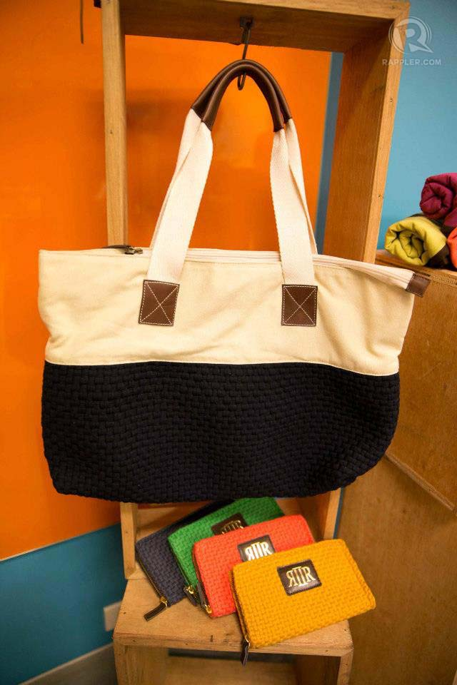 ECO-PRETTY. Bags and pouches by Rags2Riches are great purchases for the eco-fashion conscious
