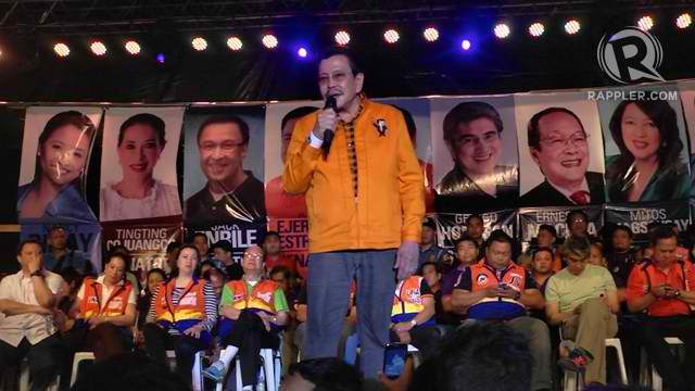 "ERAP COUNTRY? UNA is surprised that San Juan Rep JV Ejercito did not rank high in Mindanao despite its reputation as ""Erap country."""