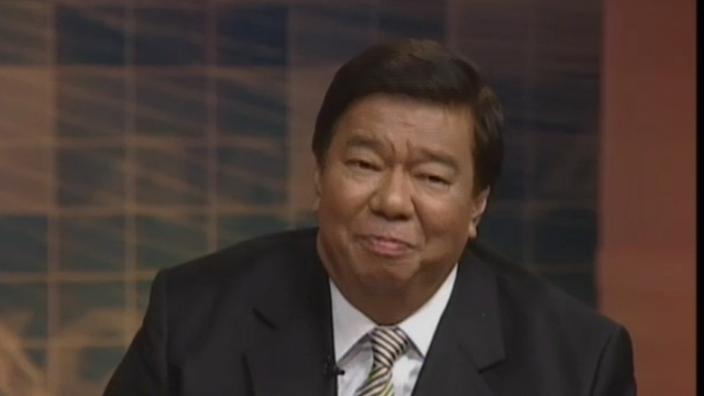 ALL FOR HIM. UNA says a 12-0 win for Liberal Party will help Drilon get the Senate presidency. Screenshot from ANC.