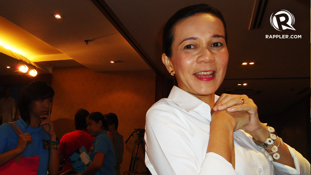 NUMBER 1. Grace Poe during the campaign period. Photo by Jerald Uy