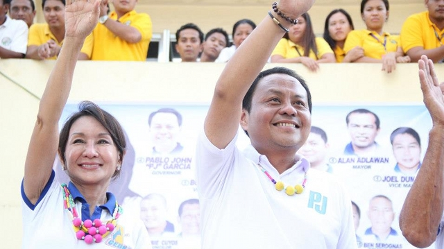 'PADAYON JUD.' Cebu 3rd District Rep PJ Garcia's campaign slogan refers to his plan of pursuing his sister's brand of leadership. He is the youngest brother of suspended Cebu Gov Gwen Garcia. File photo from PJ Garcia's Facebook page