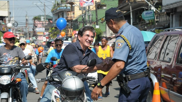 HONASAN NETWORK. Honasan counts the military, police, farmers and fisher folk as part his support base. File photo from Honasan's Facebook page