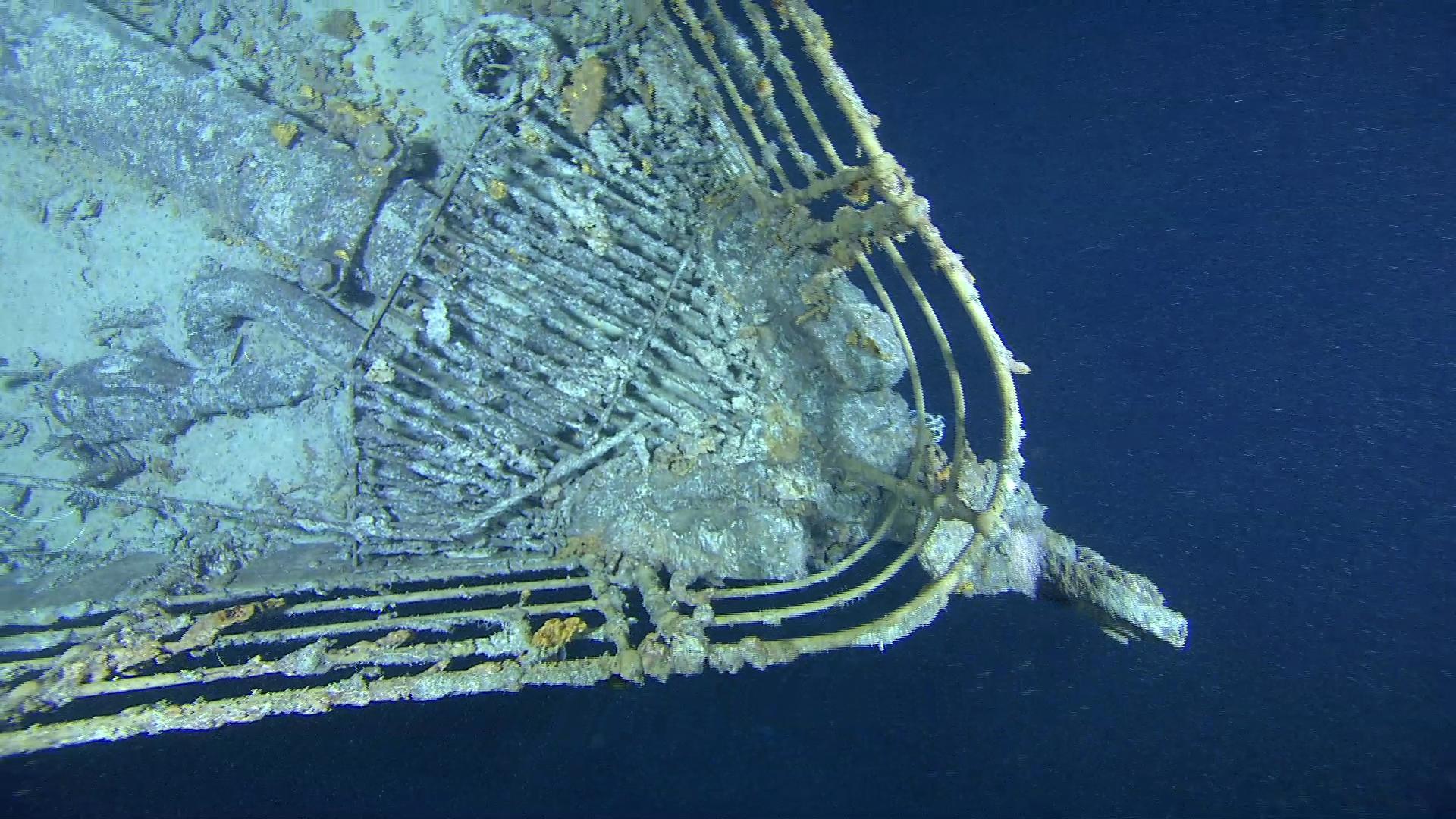 Титаник на дне океана www.krasfun.ru.