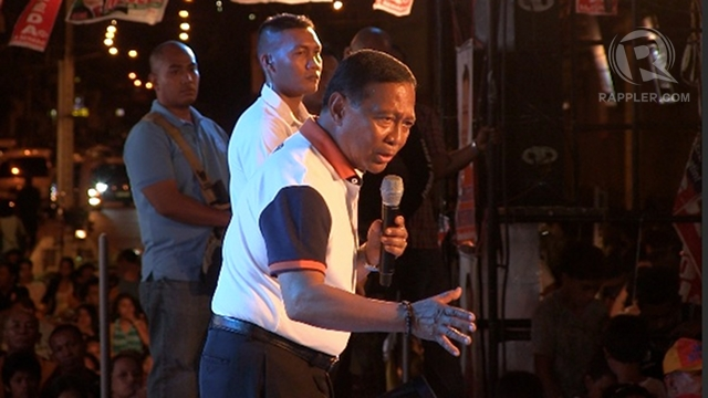 THE PATRIARCH. Vice President Jejomar Binay defends his 3 children seeking public office, saying they have done him and Makati proud.