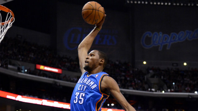 52a2e199342 NBA  Kevin Durant scores 41 as Thunder dusts off Hawks