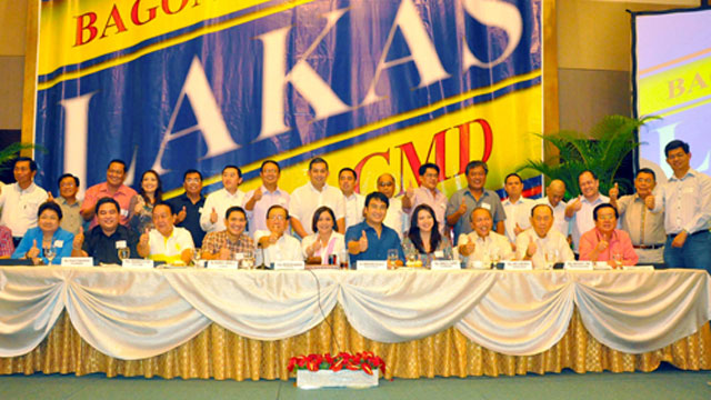 THE NEW LAKAS: The remaining Lakas members consolidated its members in June 2012 (Photo from Senate.gov.ph)