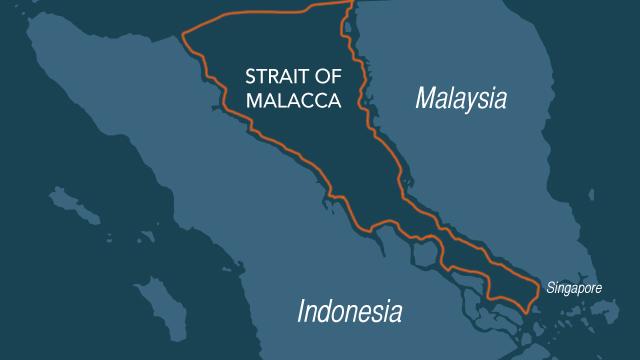 Locator Map Malacca Straits 20140423g