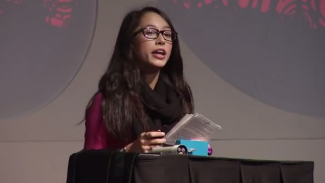 Fil-Canadian teen invents flashlight powered by body heat