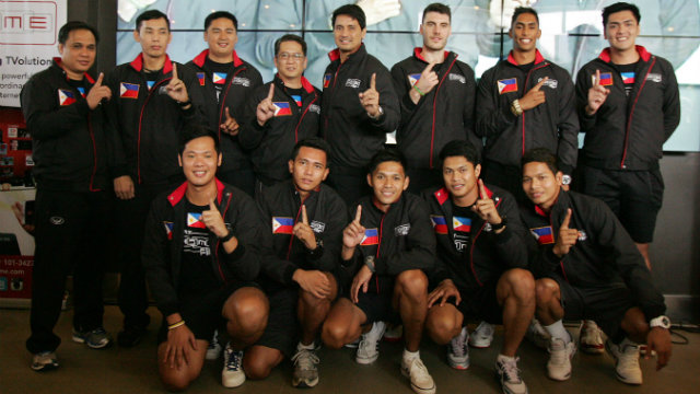 PH unveils roster for Asian men's volleyball championship