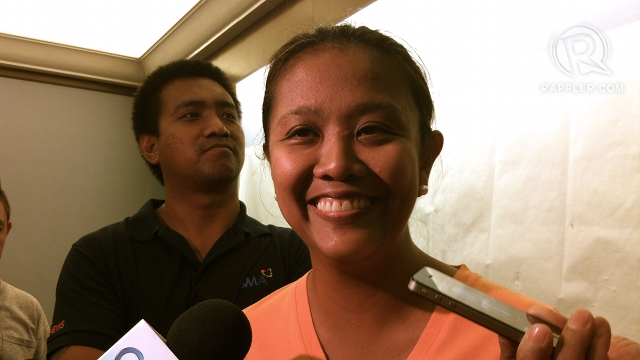 UNA STAND. UNA sources said Nancy Binay skipped her proclamation in deference to UNA's motion to postpone the partial proclamation of senators. File photo by Rappler/Ayee Macaraig