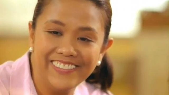 "NEW BINAY. Amid criticism of political dynasty, Nancy Binay says, ""There's more to me than my name."" Screenshot from Nancy Binay's ad"