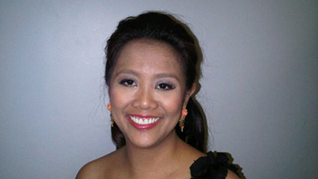 VP'S DAUGHTER. UNA fields Binay's daughter, Nancy, as its 12th senatorial bet. Photo from Nancy Binay's Twitter page.