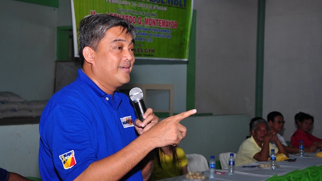 WHAT PEACE PACT? Alaminos City Mayor Hernani Braganza said he was not invited to the covenant signing for clean and honest elections. Photo from Braganza's Facebook account