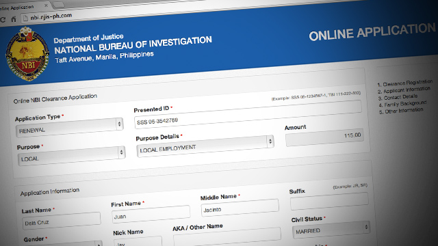 iRant: Online NBI application process is pointless