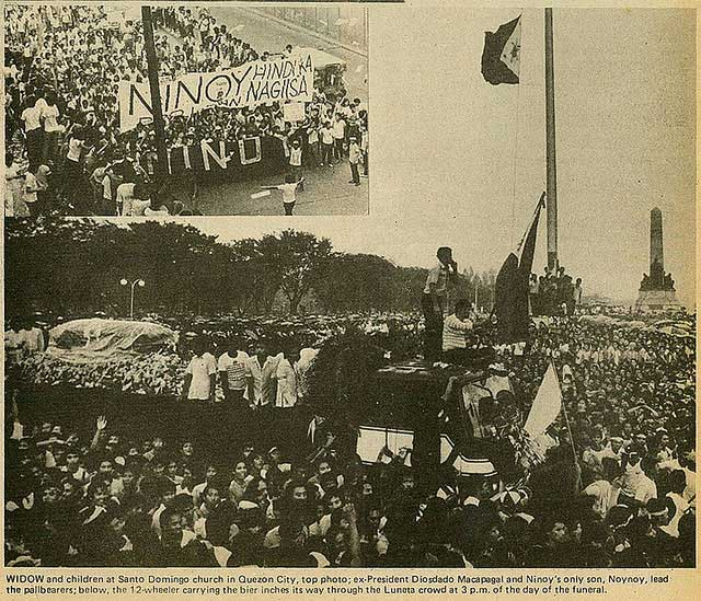 News that counts: Journalism after Aquino's assassination