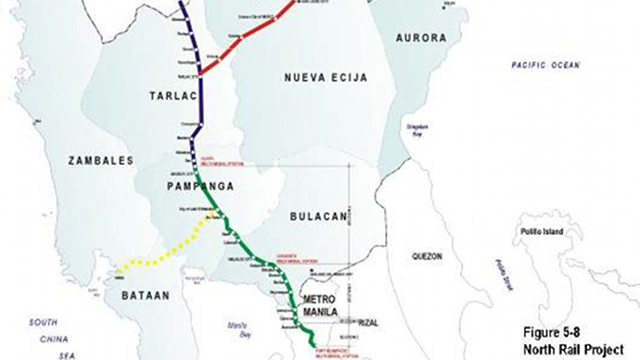 north rail project map carousel
