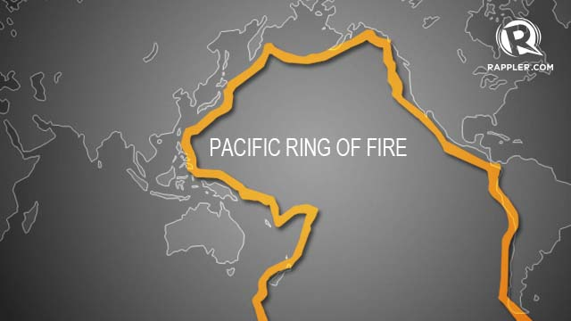 The Pacific Ring Of Fire Definition
