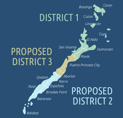 Image result for Palawan 3rd District