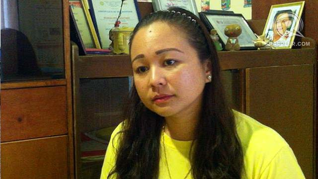 GRIEVING DAUGHTER. Aika Uy seeks justice for her father who was killed in 2011. Photo by Judith Balea