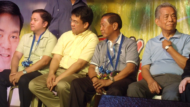 RULING PARTY? Vice President Binay's PDP-Laban hopes of becoming the ruling party by 2016. File photo by Reynaldo Santos Jr