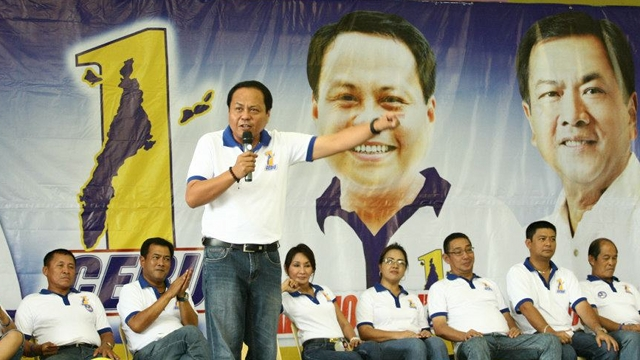 """NO MASS EXODUS. One Cebu gubernatorial bet Pablo John """"PJ"""" Garcia says contrary to the statements of the LP, there has been no mass exodus of members of the Garcias' party. File photo from PJ Garcia's Facebook page"""