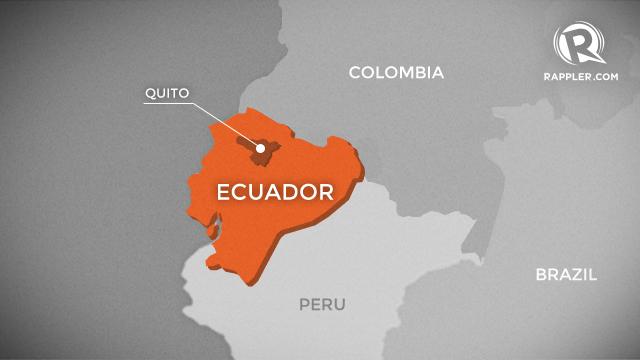 Fire Scars Big Nature Reserve In Ecuadors Capital - Capital of ecuador