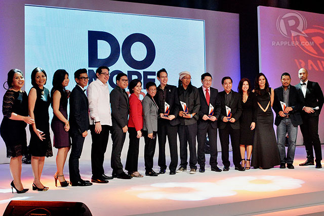 RECOGNITION. Rappler and Rexona team up to award individuals who do more. Photo by LeAnne Jazul/Rappler