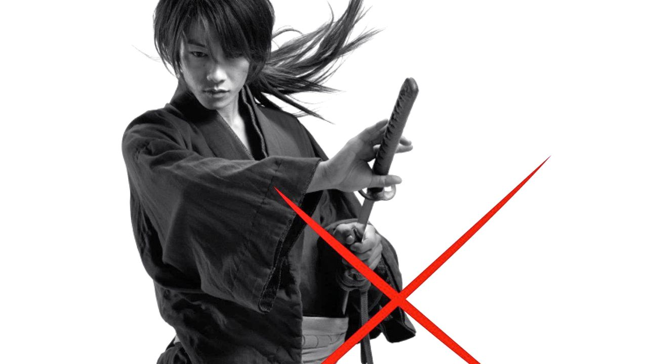 SAMURAI X, FINALLY. Rurouni Kenshin's story begins to unravel. Image from the movie's Facebook fan page