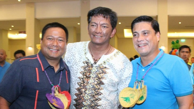 'IT'S 10-2.' Despite reports of LP sample ballots showing a 6-5-1 ticket, Albay Gov Joey Salceda reiterates the province will support a 10-2 slate in favor of Team PNoy. He said the two opposition bets will likely be San Juan Rep JV Ejercito and Migz Zubiri. File photo from Ejercito's Facebook page