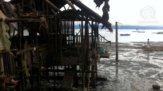 IMPOVERISHED. Under the Tans' rule, the number of poor families in Samar increased. Photo by Judith Balea