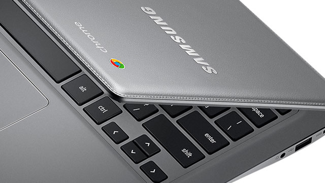 Samsung reveals leather-clad Chromebook 2 notebooks