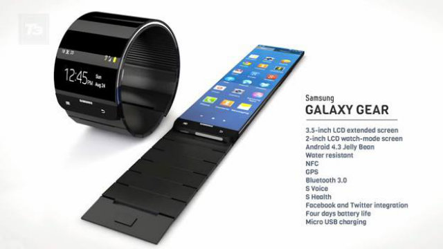 Samsung Galaxy Gear smartwatch details leaked