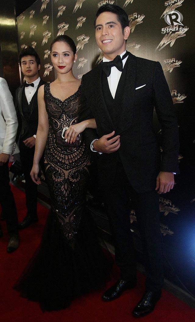 Star Magic Ball 2014 Couple fashion at Star...