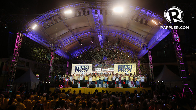 WHAT COALITION? Local leaders of the Nationalist People's Coalition said they will not support the full Team PNoy slate despite being coalesced with the Liberal Party on the national level. Photo by RAPPLER