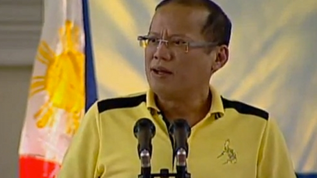 'CHOOSE PRIORITY.' Zambales Rep Mitos Magsaysay hits President Aquino for campaigning for his senatorial candidates in Pampanga while the Sabah standoff was ongoing. Screenshot from RTVM