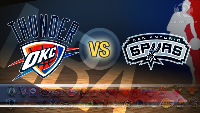 NBA Preview: Western Conference Finals, Spurs vs. Thunder