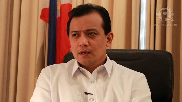 BACKCHANNEL NEGOTIATOR. Sen Antonio Trillanes IV stirred controversy for bolting the Senate majority and the revelation that he has been acting as backchannel negotiator with China on the Scarborough Shoal dispute. Photo by Hoang Vu