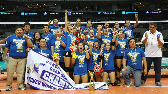 Looking back at Ateneo's journey to its first UAAP ...