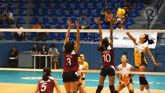 UAAP Volleyball: Tigresses clip Lady Maroons