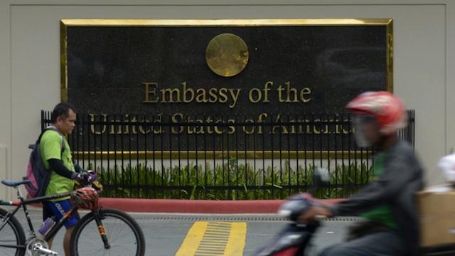 US Embassy In Manila - Us embassy manila address map
