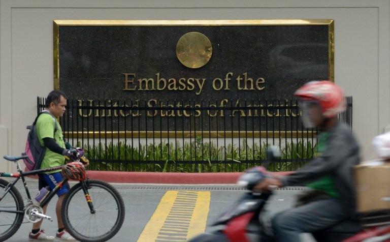 Manila A US Listening Post Report - Map us embassy manila