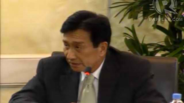 HE INHIBITED. Justice Presbitero Velasco Jr denies influencing the Supreme Court decision upholding the disqualification of his son's congressional rival. File photo