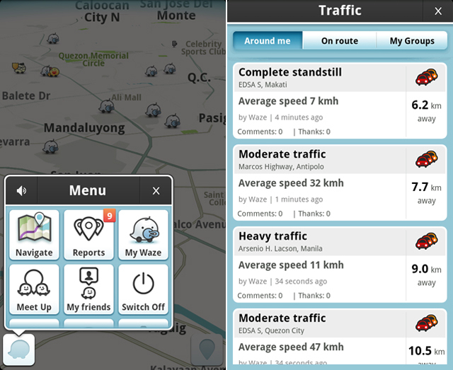 MMDA and Waze apps: Your traffic companions
