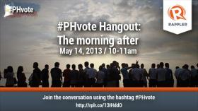 #PHvote Hangout: The morning after