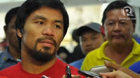 Pacquiao consolidating in GenSan for political return?